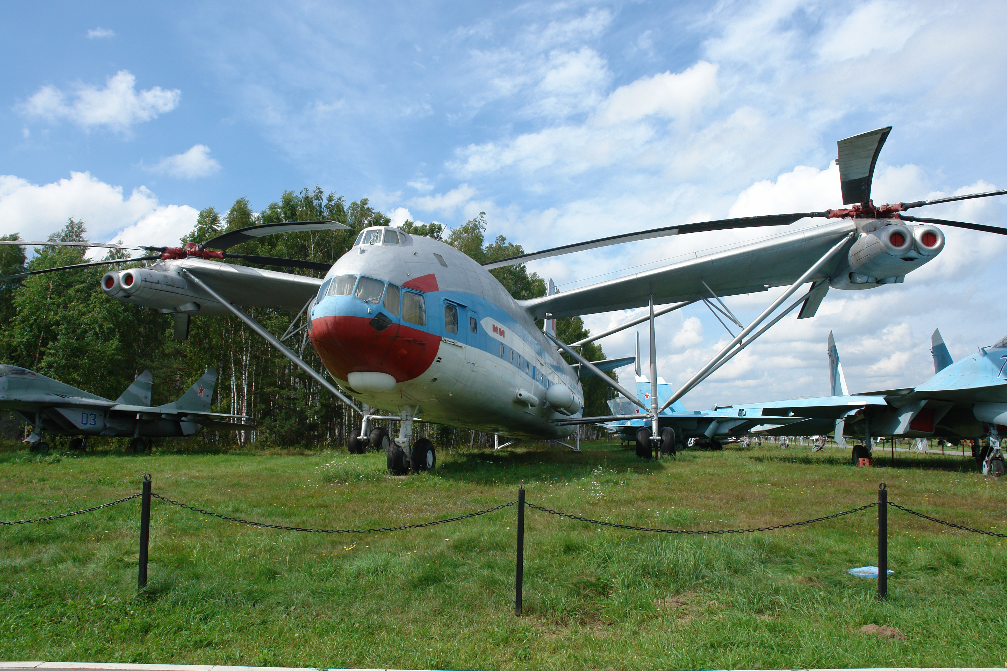 سؤال عن المروحيات  Mi-12